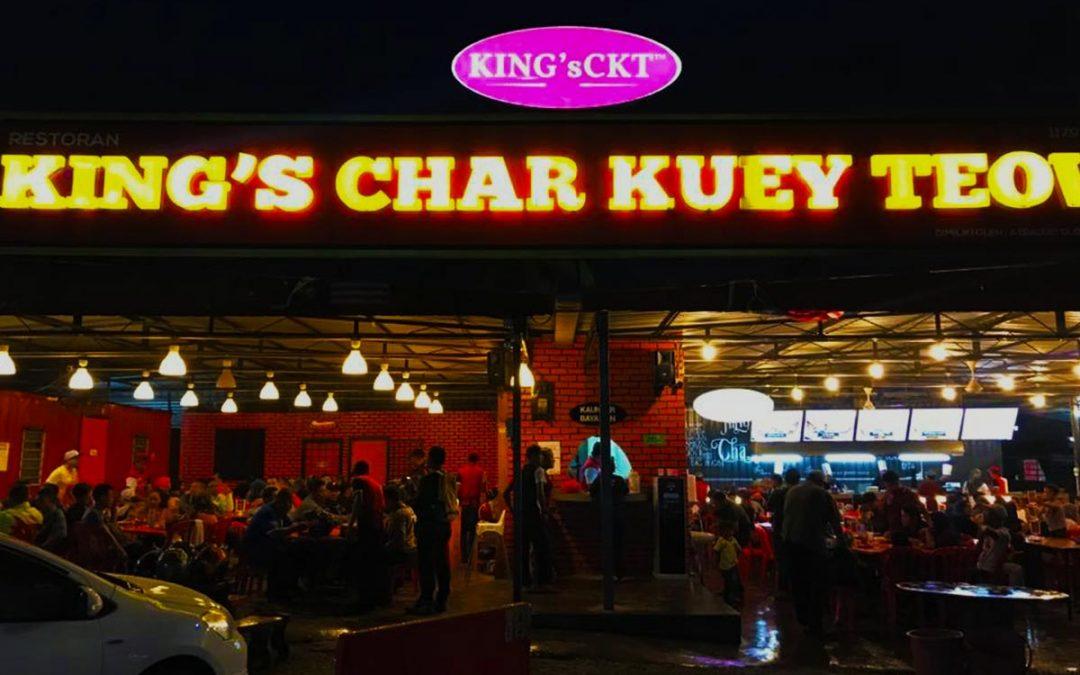 3 Menu Kings Char Kuey Teow yang anda wajib cuba