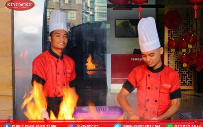 Malaysia Book Of Record – Memasak 1000 Pinggan Char Kuey Teow Dalam Satu Jam