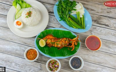 Ikan Bakar King's – Menu Istimewa King's CKT